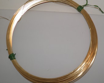 21 gauge 14K Gold Filled Square Wire, 5 feet
