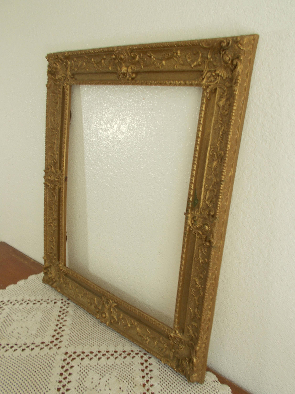 Vintage cuadro recargado de oro marco 16 x 20 Foto decoración ...