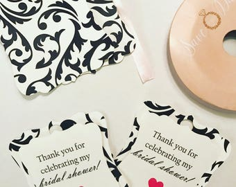 3D Thank you tags