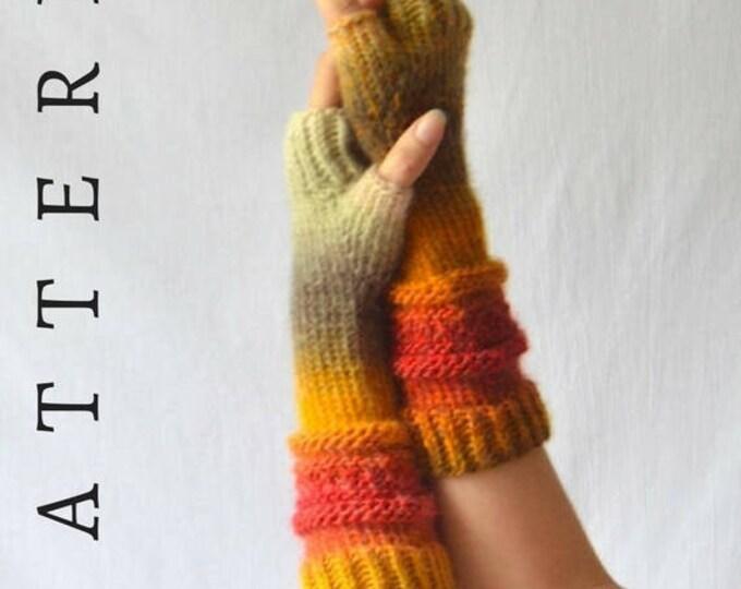 Josie Fingerless Glove Pattern