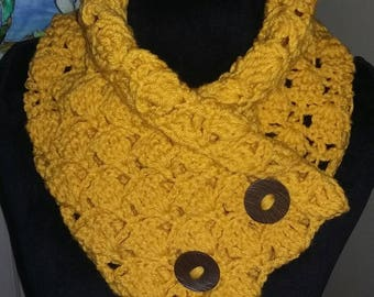 Goldenrod Neck Warmer