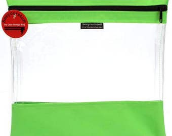 """See Your Stuff - Medium 12""""x13"""" (Multiple Colors Available)"""