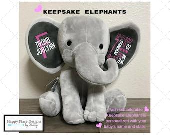 FREE SHIPPING! Keepsake Elephant