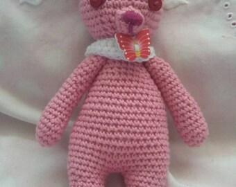Lovely crochet bunny