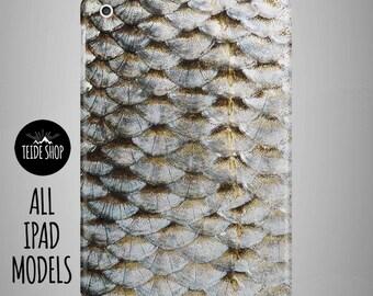 Fish Scale iPad Case iPad Mini Case iPad Mini Cover iPad Cover iPad Air Case iPad Sleeve Tablet Case Birthday Gift Idea Fish Scale iPad Case