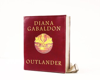Outlander Leather Book Bag Outlander Leather Book Purse