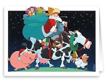 Farmer Santa - 18 Cards & Envelopes - 20061