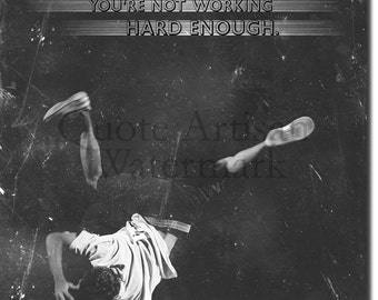 """Breakdancing Motivational Print 07 - """"If you're not sweating..."""" 12x8 Glossy Art Photo Poster Gift"""