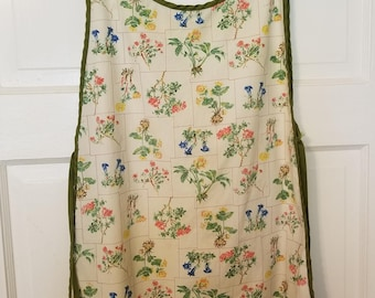Vintage Smock , Frock , 70's Smock , Retro Frock , Vintage House Wife FREE SHIPPING
