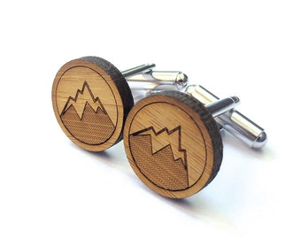 Mountain Man Cufflinks