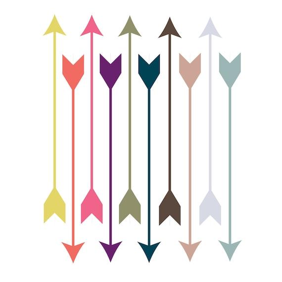 60 off sale digital clip art pantone clipart arrows modern arrows rh etsystudio com indian arrowhead clipart free