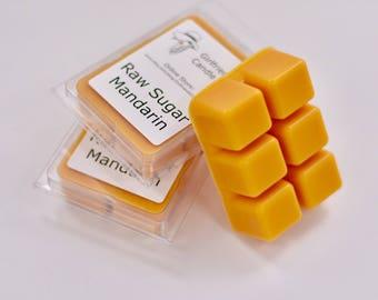 Raw Sugar Mandarin Scented Wax Melt