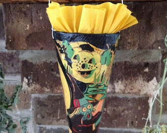 Halloween Cone of Vintage Papers