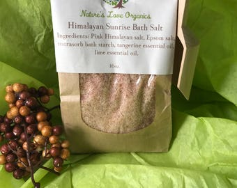 Himalayan Sunrise Bath Salt