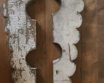 Antique Wooden Corbel, Salvaged Wood Corbel, Reclaimed Wood, Victorian Corbel, Wooden Salvaged Brackets, Salvaged House Corbel