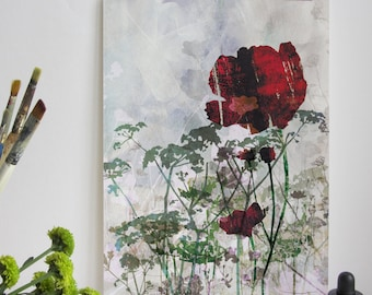 Hedgerow Flowers Print