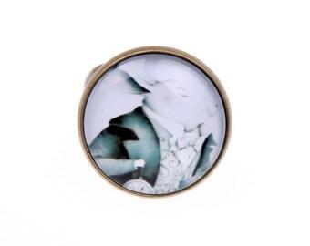 Rabbit ring, alice in wonderland ring, Rabbit jewelry, 2020B