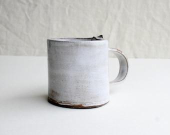 Handcrafted Chocolate Stoneware Coffee Mug, Tea Mug, Cocoa Mug, Handmade Dinnerware