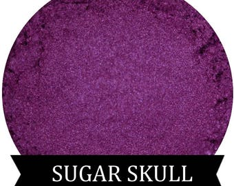 SUGAR SKULL Violet Purple Eyeshadow Halloween Eyeshadow