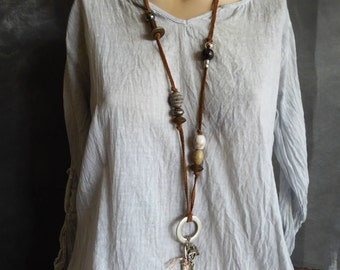 Necklace, Boho necklace