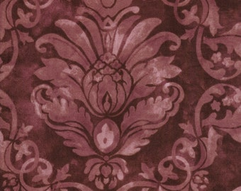 Bella verona Collection by Wing and a Prayer for Timeless Treasures c8584 Merlot