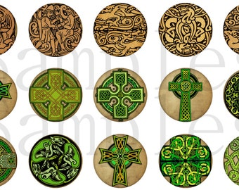Celtic Cross Magnets, Celtic Cross Pins, Celtic Magnets, Celtic Cross Flatbacks, Celtic Gift, Celtic Cabochons