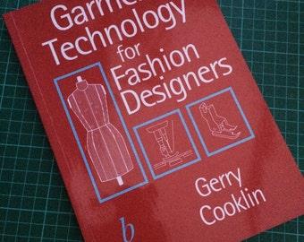 Garment Technology for Fashion Designers Book Gerry Cooklin Original Edition