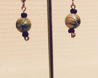 Rock and marine spirit earrings