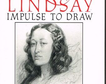 Impulse To Draw - 1994 - Norman Lindsay  art - By Lin Bloomfield - Paper back