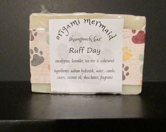 Ruff Day Shampooch Bar (for dogs)