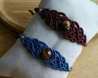 Macrame bracelet, gypsy bracelet ,bohojewellery, bohemian jewels