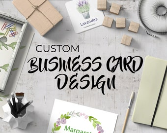 Custom Business Card Design Service