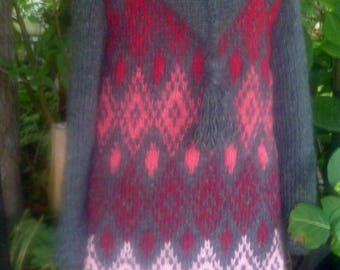 Knitting coat from Iceland wool ***L