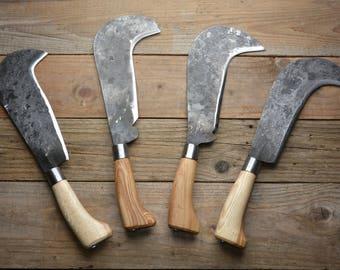 Hand forged English billhooks 1