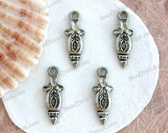 Goddess Charms, Goddess Beads, Lead Free Pewter Metal Goddess, Handmade in the USA, Copyright © Protected, KF Signature Series ~ K302AP