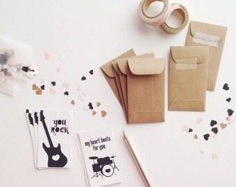 PRINTABLE You Rock Valentine Mini Cards