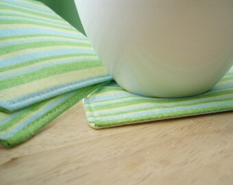 Fabric Coasters - Set of 4