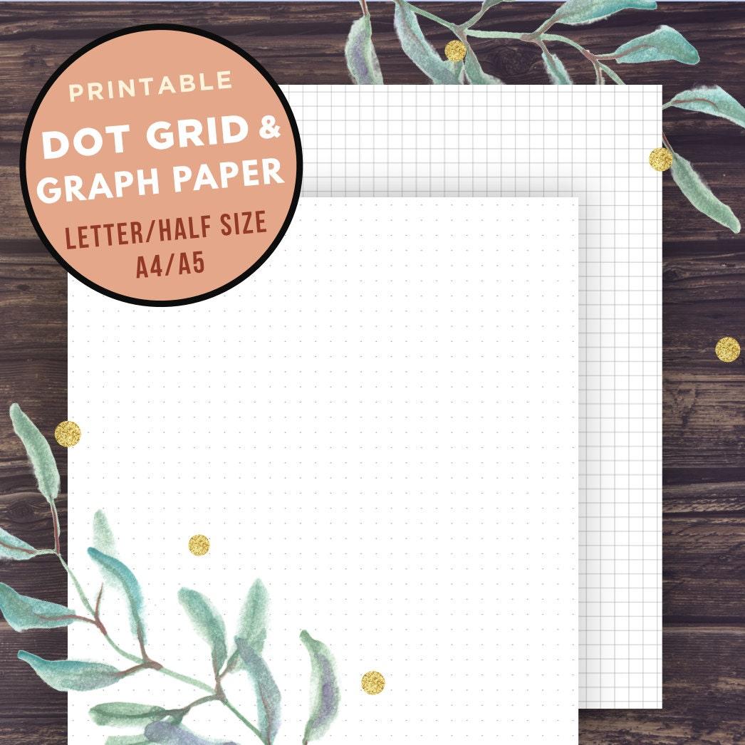 printable graph paper full sheet