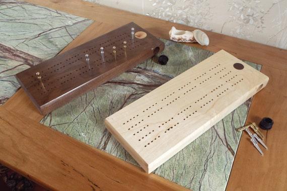 32. 2 Track Cribbage Board