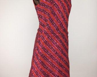 Vintage 1960s Bermuda Party Dress, size 12