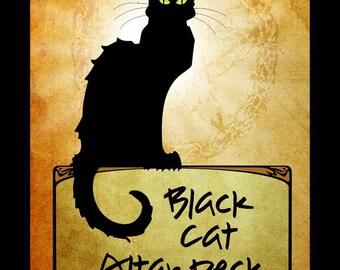 Black Cat Altar deck