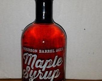 Bourbon Barrel Aged Maple Syrup- 375ML