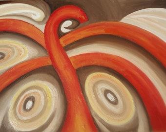 Abstract octopus Digital art download
