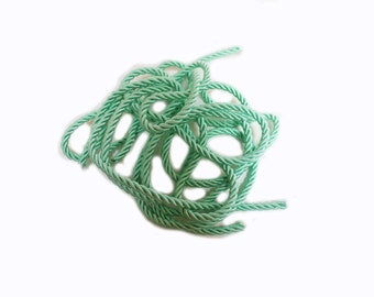pastel green color cord