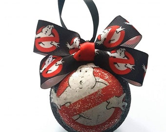 Ghostbusters Themed Christmas Tree Baubles/Decorations