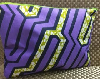 African Hand Bag /African Fabric /Handmade