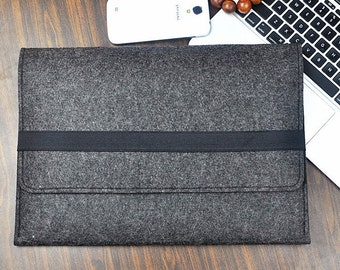 """Felt laptop sleeve 13 inch ,Hp Laptop Case 15.6"""", 13 Inch Felt Laptop Case, HP Stream 11"""" 13"""" 14"""", Felt laptop cover,Custom Other size, A251"""