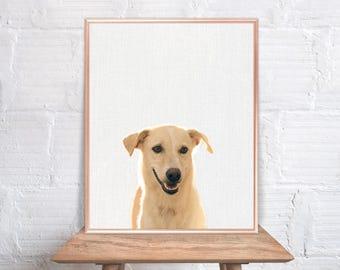 Puppy wall art / Dog home decor / Dog Print / Puppy / Dog Art / Dog Wall Decor #43