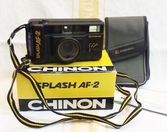 Vintage Chinon Splash AF-2 Camera New in Box