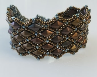 Dragon Scales Cuff Bracelet